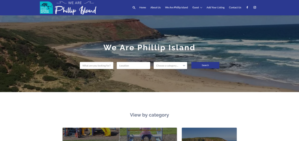 we are phillip island website design phillip island